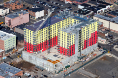 Between January & March 2020, 150 Main St. Project in Hackensack climbs to 6 stories with Sisca Organization as construction manager