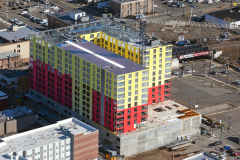 Between January & March 2020, 150 Main St. Project in Hackensack climbs to 10 stories, with Sisca Organization as construction manager