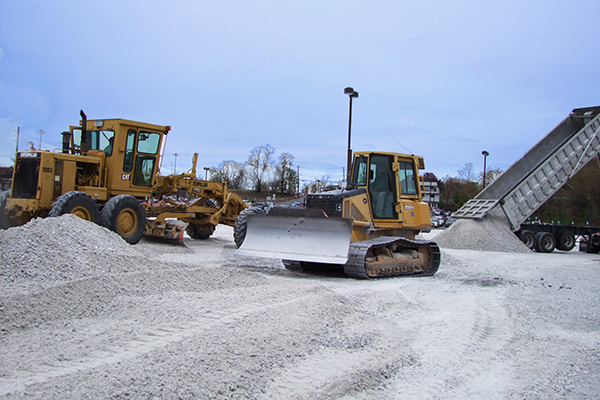 The Sisca Organization operates a fully equipped in-house Site Work division.