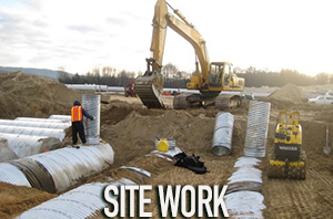 The Sisca Organization performs construction site work