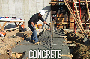 The Sisca Organization performs concrete construction work
