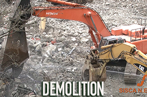 The Sisca Organization performs demolition work