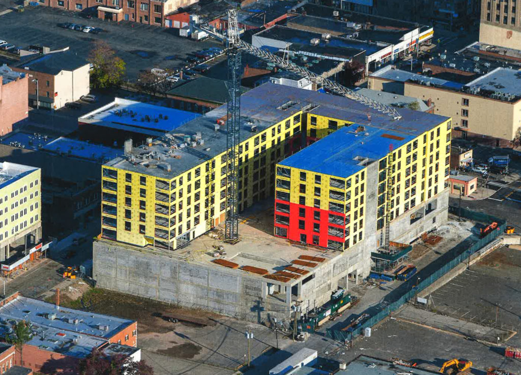 Sisca Organization constructing 379 units of market rate housing in Hackensack, NJ fall 2019